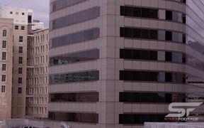 Panorama of Office Buildings in Salt Lake City