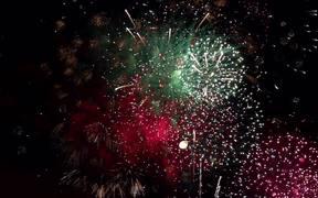Fireworks Slow Motion