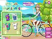Fashionable Bike Ride