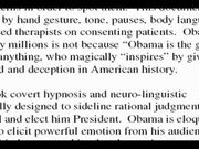 Obama's Use of Conversational Hypnosis Techniques