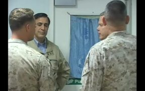 Assistant Commandant Visits Marines in Afghanistan