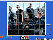 Fast And Furious 6 Spin Puzzle