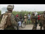 Marines React After Haiti Earthquake