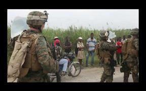 Marines React After Haiti Earthquake