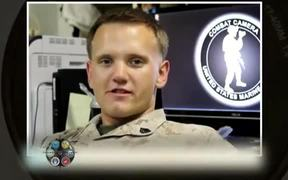 Armed and Apertured Sgt Christopher Stone