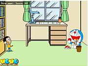 Nobi Nobita Paper Toss