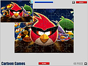 Angry Birds: Jigsaw Game