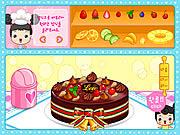 Fruit Cake Decoration