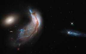 67-Of galaxies and penguins-Arp 142
