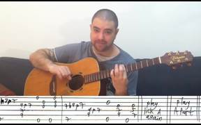 Fingerstyle Tutorial - Guitar Lesson w/ TAB