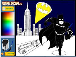 Batman Cartoon Coloring Oyunu Y8com üzerinde Online Oyna
