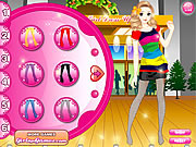 Candy Store Girl Dressup