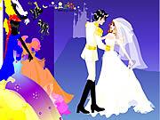 Colorful Wedding Dressup