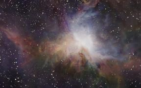 3D animation of the Orion nebula 2