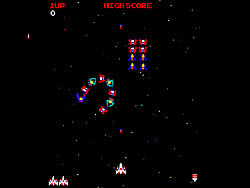 galaga game play online at y8 com
