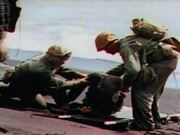 Iwo Jima - Caring For Wounded Under Intense Fire