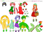 Fruit Doll Dressup