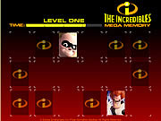 The Incredibles Mega Memory
