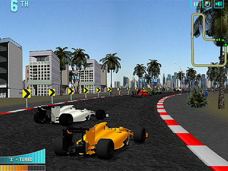 Super Race F1 Game Play Online At Y8 Com