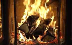 Mahler - Symphony no. 5 and Fireplace in Macro