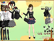 Black Fashion Dress Up