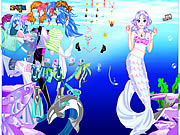 Sea Girl Dressup