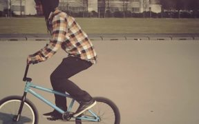 Slow Motion Footage of BMX