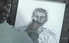 Gesture Drawing Demonstration - portrait