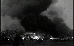 Hindenburg Disaster With Sound 1937