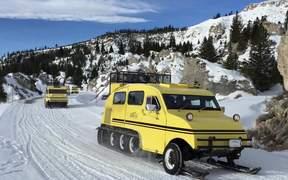 Yellowstone Bombardier Snowcoaches