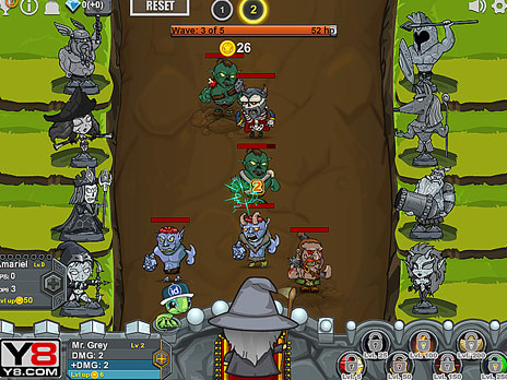 Epic Clicker Game Play Online At Y8 Com