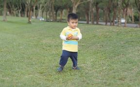 Kid on the Grass